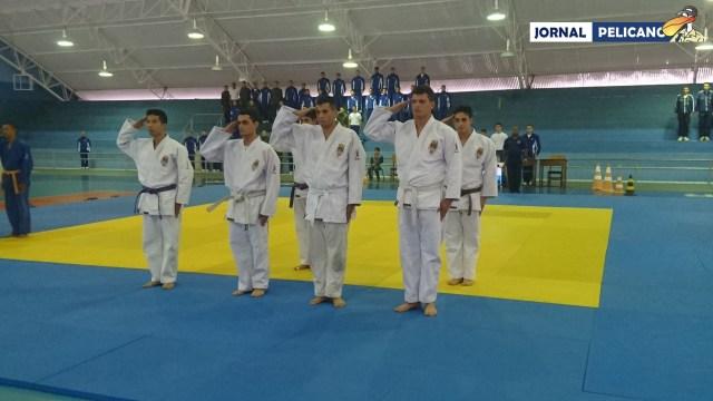 Equipe de Judô da EFOMM.(Foto: Jornal Pelicano)