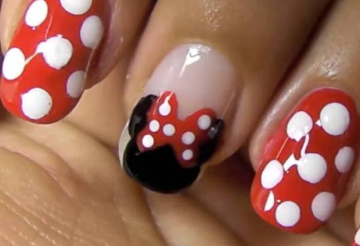 Uñas Disney Minnie Mouse Blog De Trucos De Belleza Y Pelo