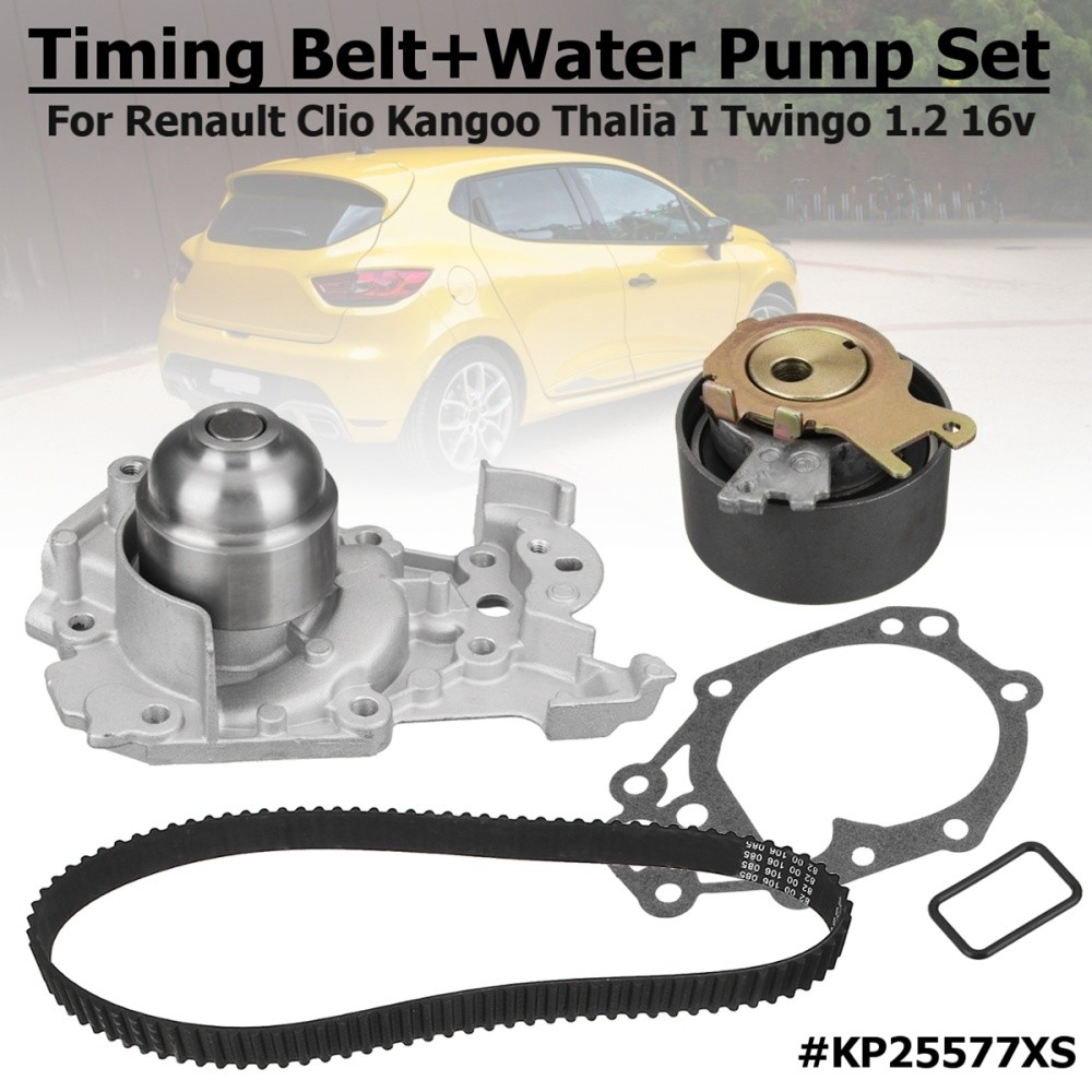 hight resolution of generic kp25577xs timing belt water pump set for renault clio kangoo twingo 1 2 16v