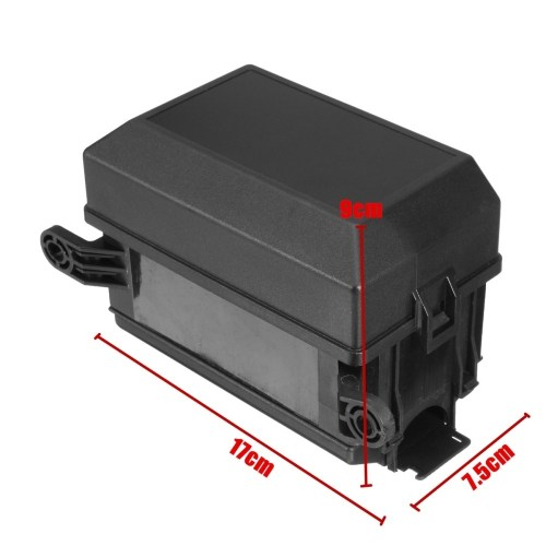small resolution of generic auto car fuse relay holder box relay socket 6 relay 6 atc ato fuses universal
