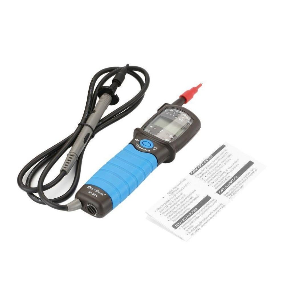medium resolution of generic hp 38a pen type digital multimeter holdpeak voltage tester auto testing data