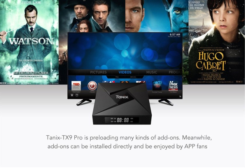 Tanix TX9 Pro TV Box Amlogic S912 Octa-core CPU Android 7.1 OS Bluetooth 4.1 1000M LAN