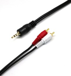 generic audio cable 3 5mm jack to rca 5m [ 1000 x 1000 Pixel ]