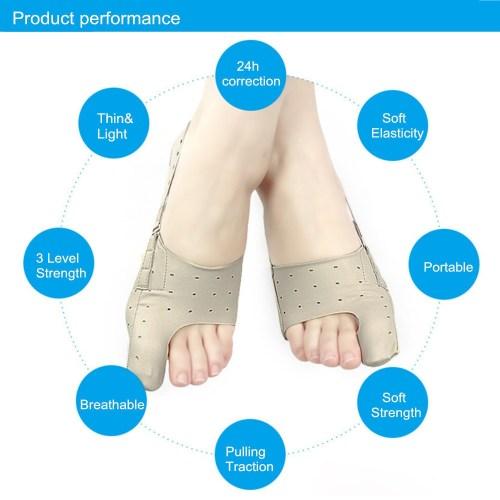 small resolution of generic 2pcs elastic bunion corrector big foot bones toe pain relief hallux valgus tool