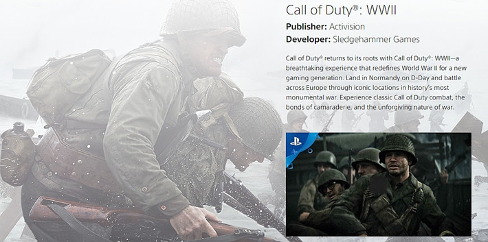 Activision PS4 Call Of Duty: WWII price in Nigeria