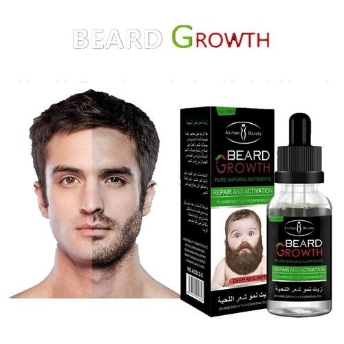 33c8fa61378b5acbf650ff1151bcd2c6 Aichun Beauty Beard Growth Essential Oil   30ml