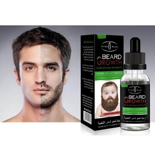 e3a089d928a127ab7cc3aeb4534be04b Aichun Beauty Beard Growth Essential Oil   30ml