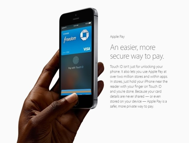 iPhone SE Apple Pay
