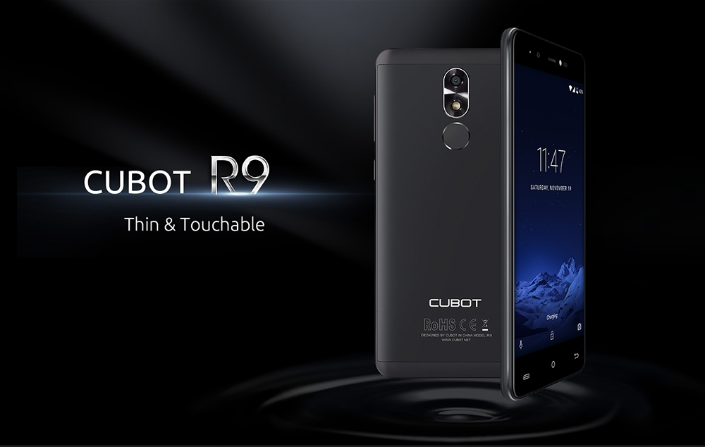 58f8b3aeafd207c89355045089b67510 Cubot R9   5 2600mAh With Case 2GB/16GB Fingerprint Android 7.0 EU   Gold