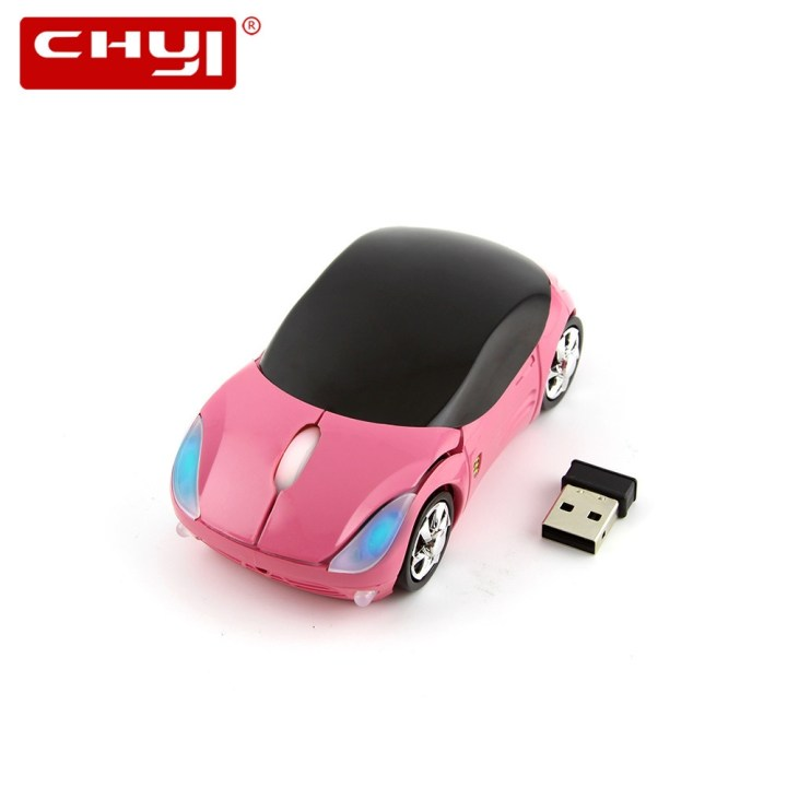 Generic Wireless Mouse 1600DPI Super Car Shaped Mouse USB 2.4Ghz Optical Mouse Mause For Desktop Laptops Computer Mouse Gamer(Red) price in Nigeria