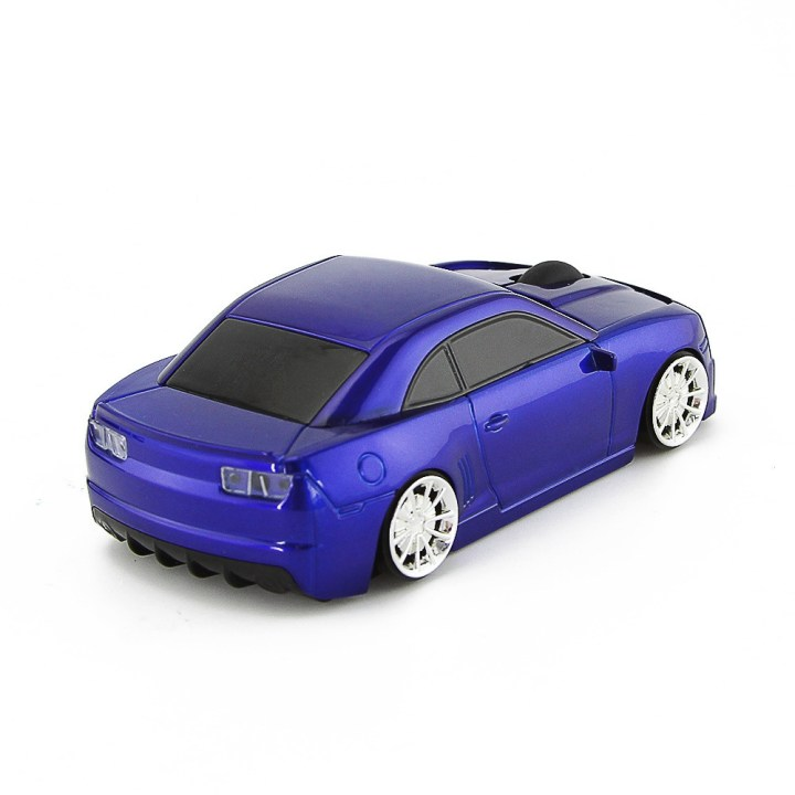 Generic Car Wireless Mouse 2.4GHz Creative Cool Racing Car Mouse Optical USB Computer Mice 3D 1600 DPI Mause For PC Laptop Desktop(Blue) price in Nigeria