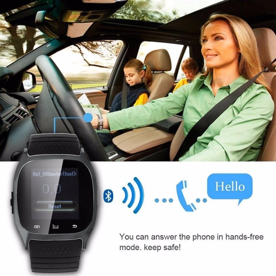 Generic M26 Bluetooth Luxury Wristwatch Smartwatch With Dial SMS Remind Pedometer(White) price in nigeria