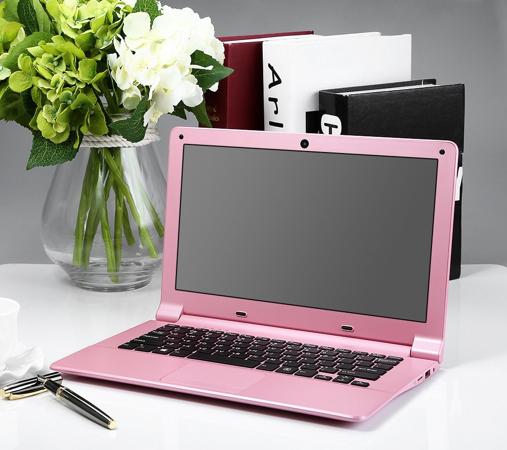 d9c309007df538db99a85d32d419a64d DEEQ A116 Quad Core 1.33GHz (2GB,32GB SSD) 11.6 Inch Windows 10 Notebook   Pink