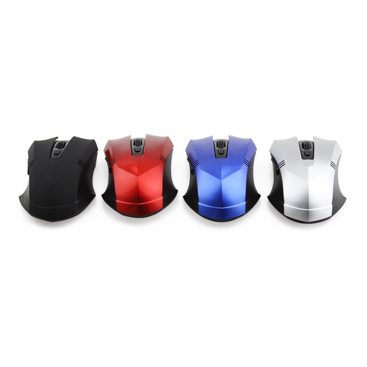 Generic Wireless Mouse Gaming Mouse Gamer Mause PC Computer Mice Adjustable 800 1200 1600 DPI For Laptop (Blue) price in Nigeria