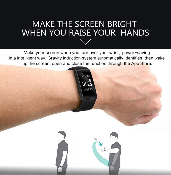 Generic Smartband Fitness Tracker Android IOS Waterproof Bluetooth Heart Rate GOLDEN price in Nigeria