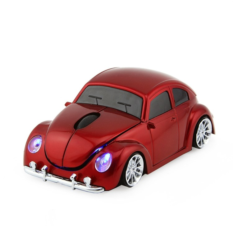 Generic D Xmas USB Optical Wireless Mouse VW Beetle Car Shape Gaming Mouse Beetle Mause For PC Laptop Computer Mice(Blue) price on jumia Nigeria via specspricereview.com