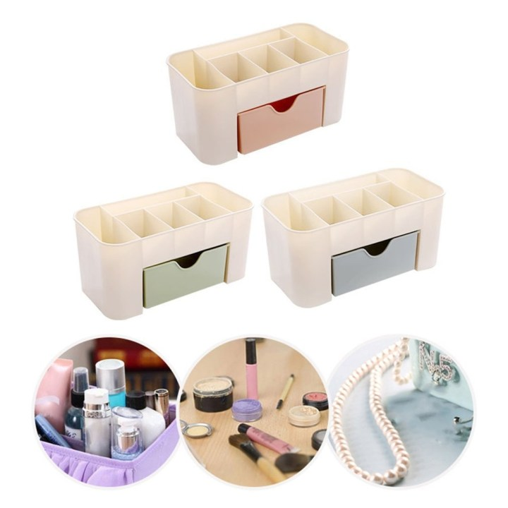 Generic Cosmetic Jewelry Storage Drawer Plastic Home Office Remote Control Holder price in Nigeria