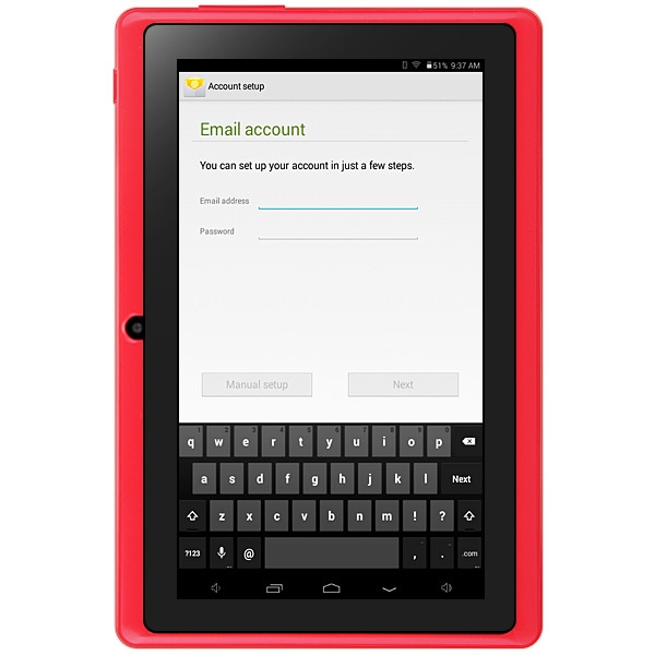 "Generic Q88H - 7"" Tablet Android 4.4 512MB/8GB G-Sensor 2600mAh - Red"