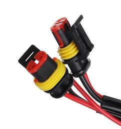 generic general motorcycle spotlight fog light wire harness loom kit relay switch [ 1200 x 1200 Pixel ]