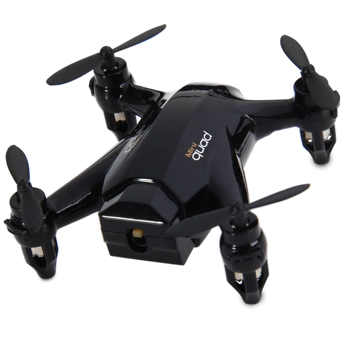 Generic XINLIN X165 4 CH Mini 2.4G Quadcopter With Gyro Hover 360 Degree Rollover   Black price in nigeria