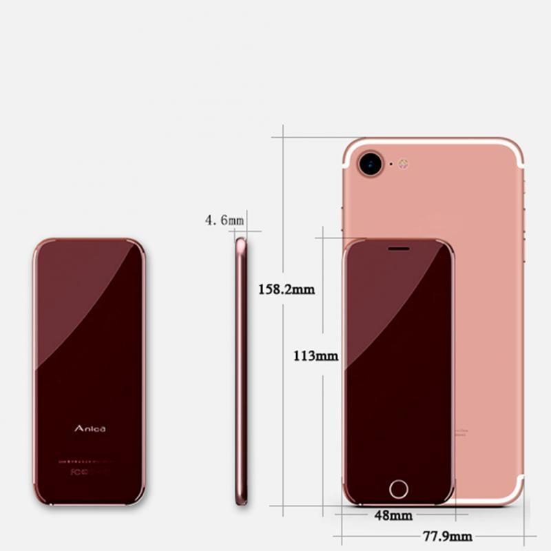 4dc724a088890008d2d904b1cb5102e8 Glorystar Mini Mobile Phone Ultra Thin Touch Control Card Mobile Phone Fashion Alternate Anica T8 black