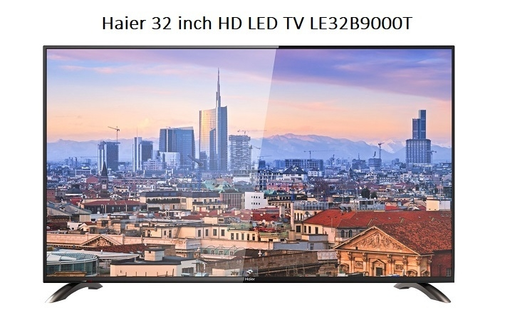 Haier 32 HD LED TV LE32B9000T   Black price in nigeria