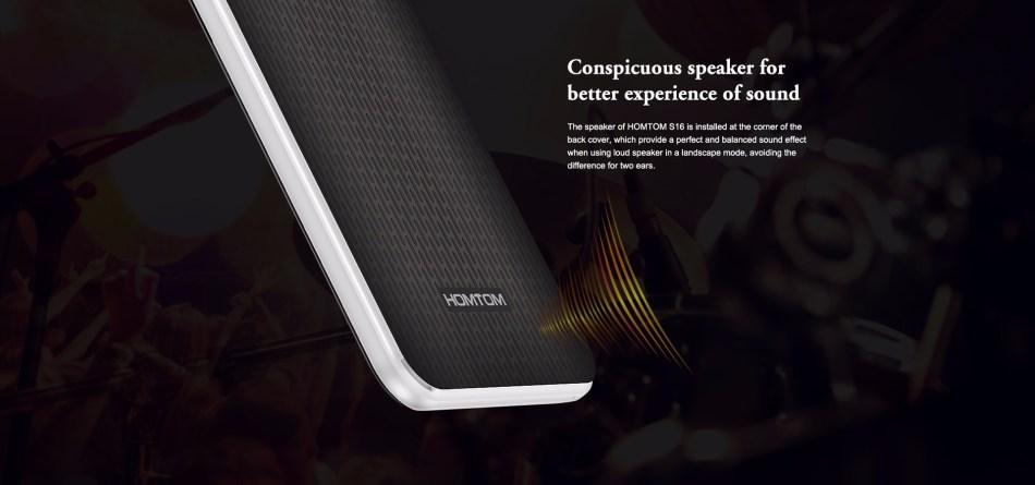"Homtom S16 - 5.5"" 3G Android 7.0 2GB/16GB 3000mAh Fingerprint EU - Black"