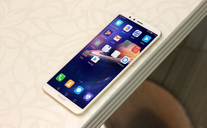 Huawei Honor 7X 4G Phablet 5.93 Inch Android 7.0 4GB RAM + 32GB ROM Dual Rear Cameras BLACK price in Nigeria