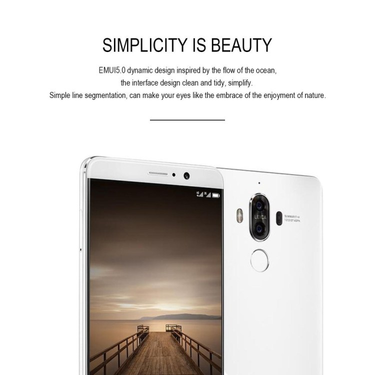 Huawei Huawei Mate 9 4G LTE Octa Core 5.9 Inch Android 7.0 Fingerprint Mobile Phone white price on jumia Nigeria via specspricereview.com