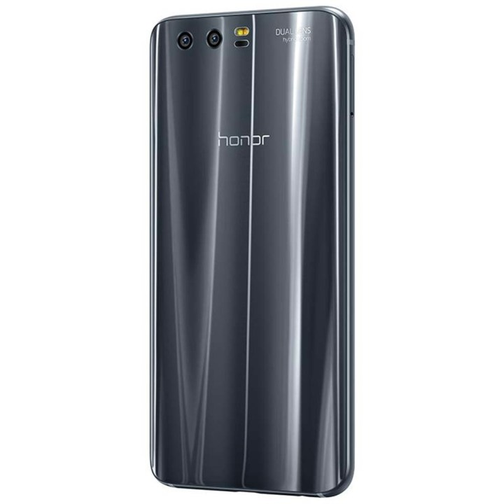 Huawei Honor 9 4G Smartphone 5.15 Inch 4GB RAM + 64GB ROM 20.0MP + 12.0MP Dual Rear Cameras Touch Sensor Grey price in Nigeria