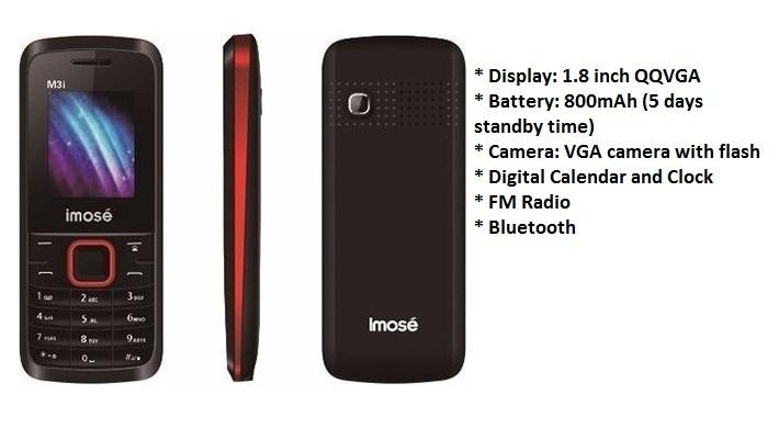 iMose M3i Dual SIM 1.8   Inch ( 32MB) Basic Phone   Pink price in Nigeria
