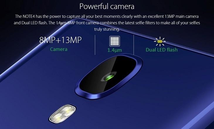a48c36f130c77ef6a333acb3e946292c Infinix Infinix X572 Note 4   5.7   16GB   4G Mobile Phone   Milan Black