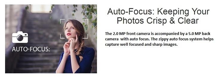 Itel it1516 Plus 5MP + 2MP camera