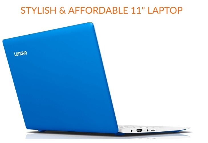 87439f8b0aa7e6a085f348200f518df9 Lenovo Ideapad Mini Laptop 110S 11IBR Intel Atom (2GB,32GB SSD) + Free 32gb Flash Drive 11.6 Inch Windows 10   Blue,