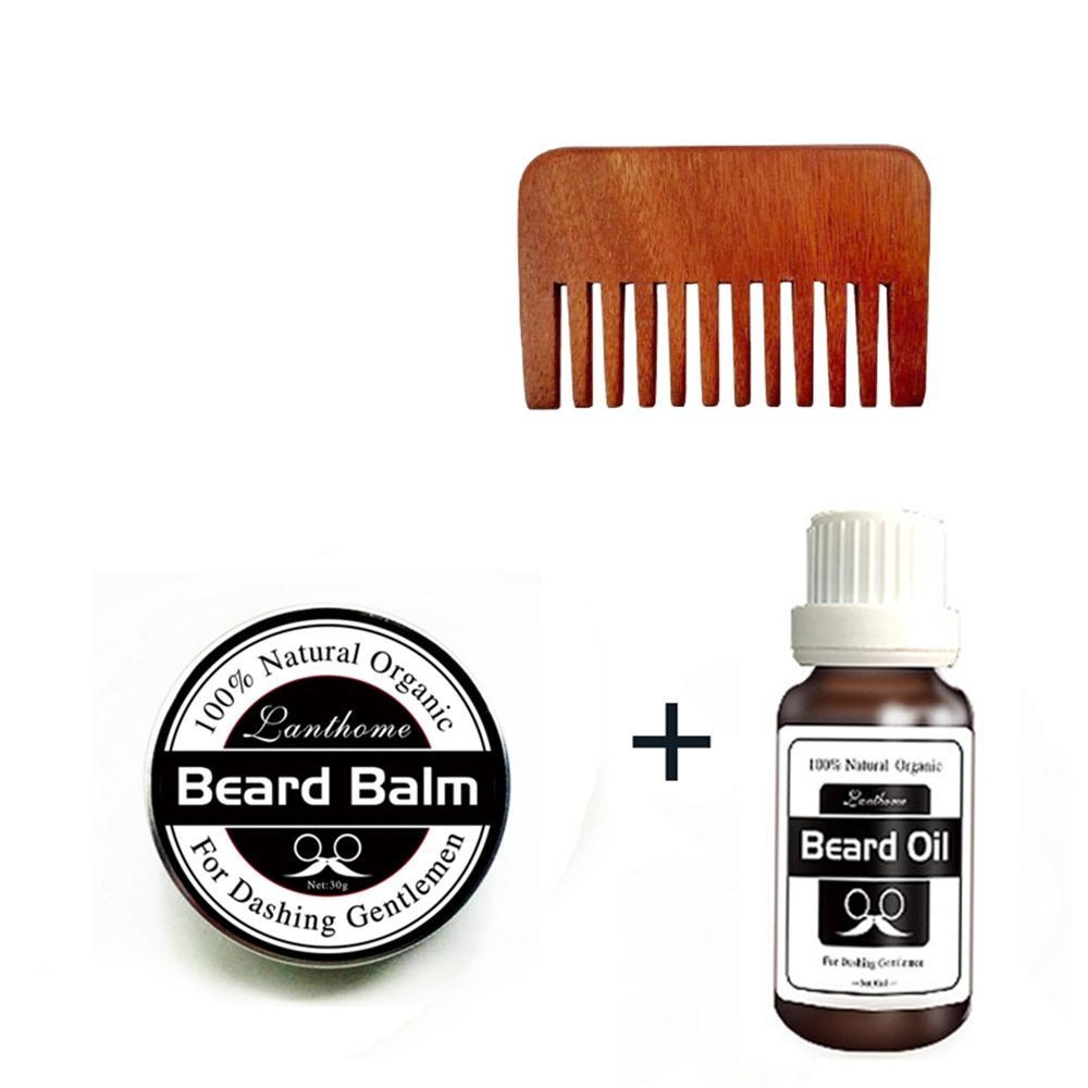 f340095761e5d059fda0a8baa6c5315e Louis Will Beard Grooming Care Kit, Natural Beard Balm, Natural Moustache Wax, Natural Beard Oil With Comb For Mens Beard Mustache Promotes Beard Growth And Shine