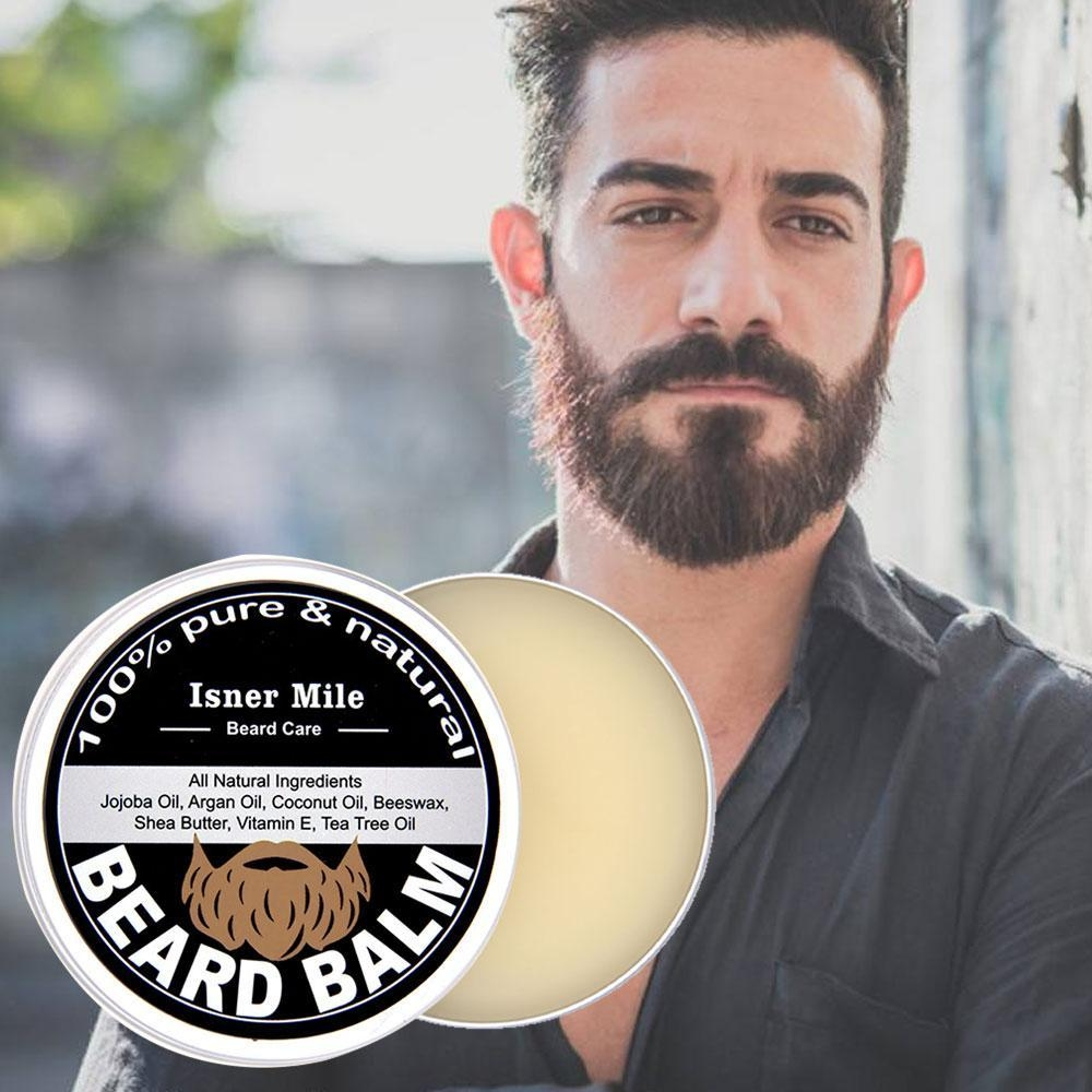 017f2bea4a3dc90b9831439ee1d2671b Louis Will Argan Oil Beard Balm For Beard Moisturizer Conditioner, Pawaca 100% Pure Natural Organic Beard Balm For Men With Moisture Rich Ingredients Treat Skin And Hair Follicles   Fragrance Free, 2Oz