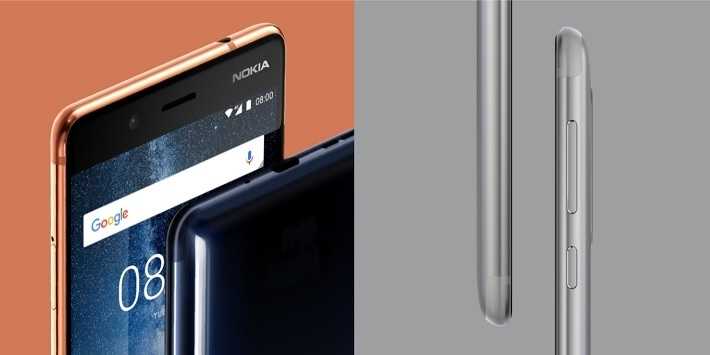 167dc7d5fa9837f1036a3da3672d0aae Nokia 8 5.3 Inch (4GB,64GB ROM) Dual 13MP + 13MP, Android 7.1 Nougat Dual SIM 4G Smartphone   Steel