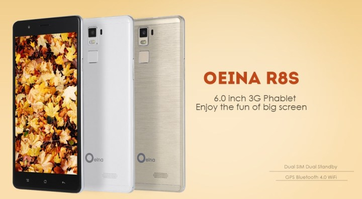 Oeina Oeina R8S Android 5.1 6.0 Inch 3G Phablet MTK6580 Quad Core 1.3GHz 1GB RAM 8GB ROM Gravity Sensor GPS Bluetooth 4.0 WHITE price in Nigeria