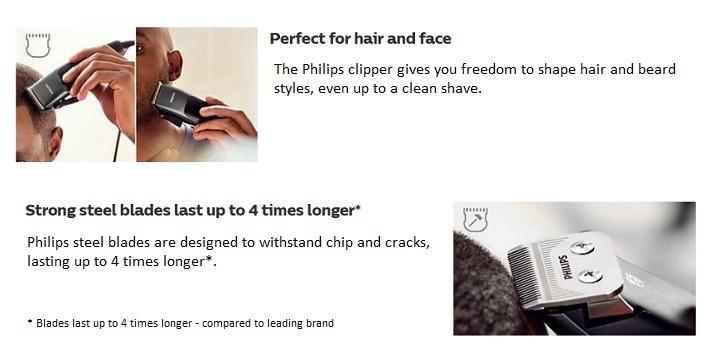 4639959ec9846381ba95368cbde307c2 Philips Hair Clipper Series 3000 Home Clipper HC3100/13