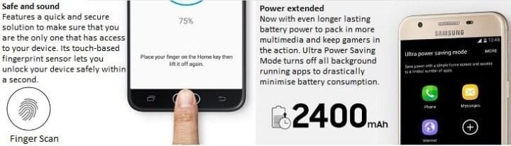 Samsung Galaxy J5 Prime (2GB, 16GB)   Black + Free PowerBank   9800mAh (Single Output) price in Nigeria