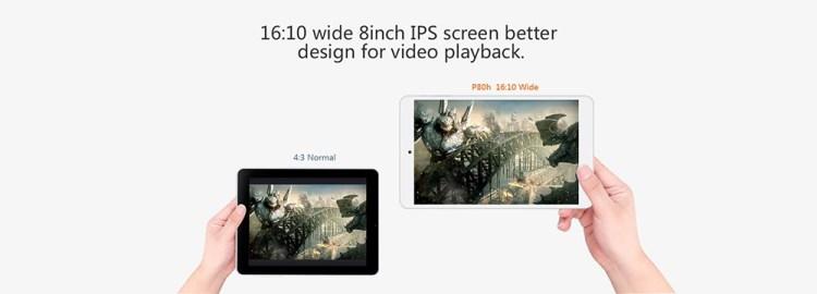 TECLAST P80h   8  Tablet Android 5.1 1GB/8GB OTG HDMI G Sensor EU   White price on jumia Nigeria via specspricereview.com