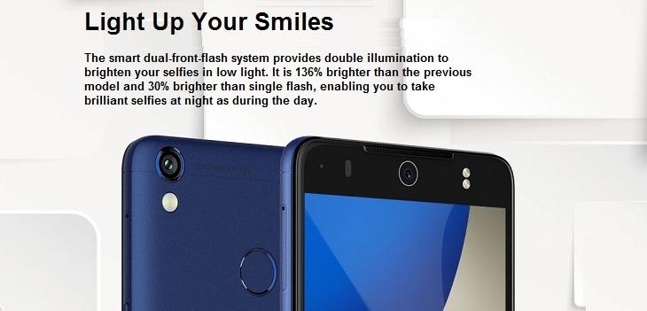 Tecno Camon CX Air 5.5 Inch (2GB,16GB ROM) Android 7.0 Nougat, 13MP + 13MP Dual SIM 4G Smartphone price in nigeria