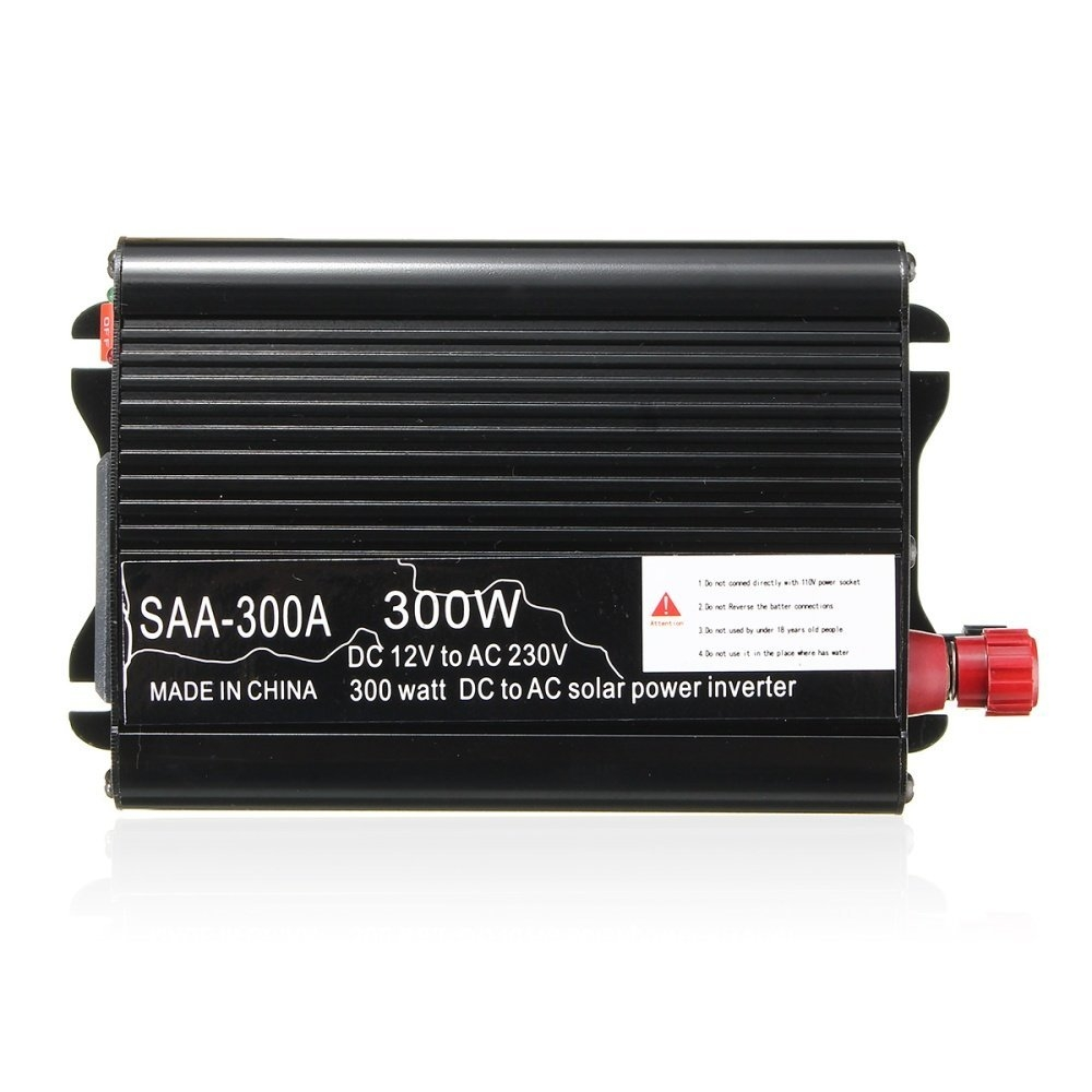 a707e461d99ddef26505afccad82dd23 Universal Solar Power Inverter 300W Peak 12V DC To 220V AC Modified Sine Wave Converter