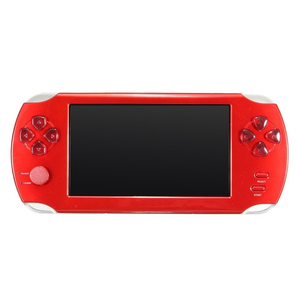 50b9c642028bcc45b0e0db5432270c6c Universal A15 Rechargeable 5.0 8G Handheld Video Game Console MP4/MP5 Player With Camera Red