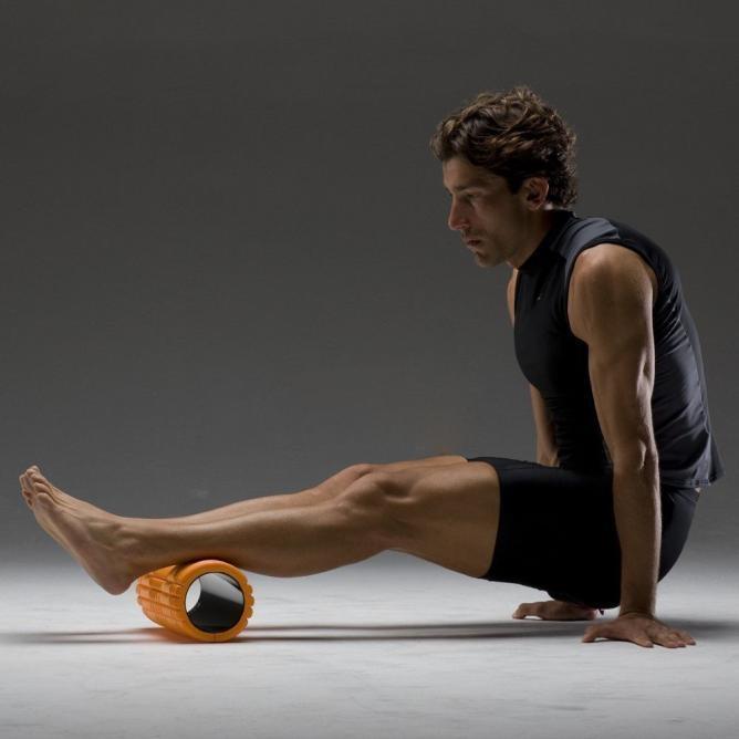 Universal Exquisite Unisex Yoga Pilates Fitness Foam Roller Mage Column Exercise Gym Sport Orange price in Nigeria