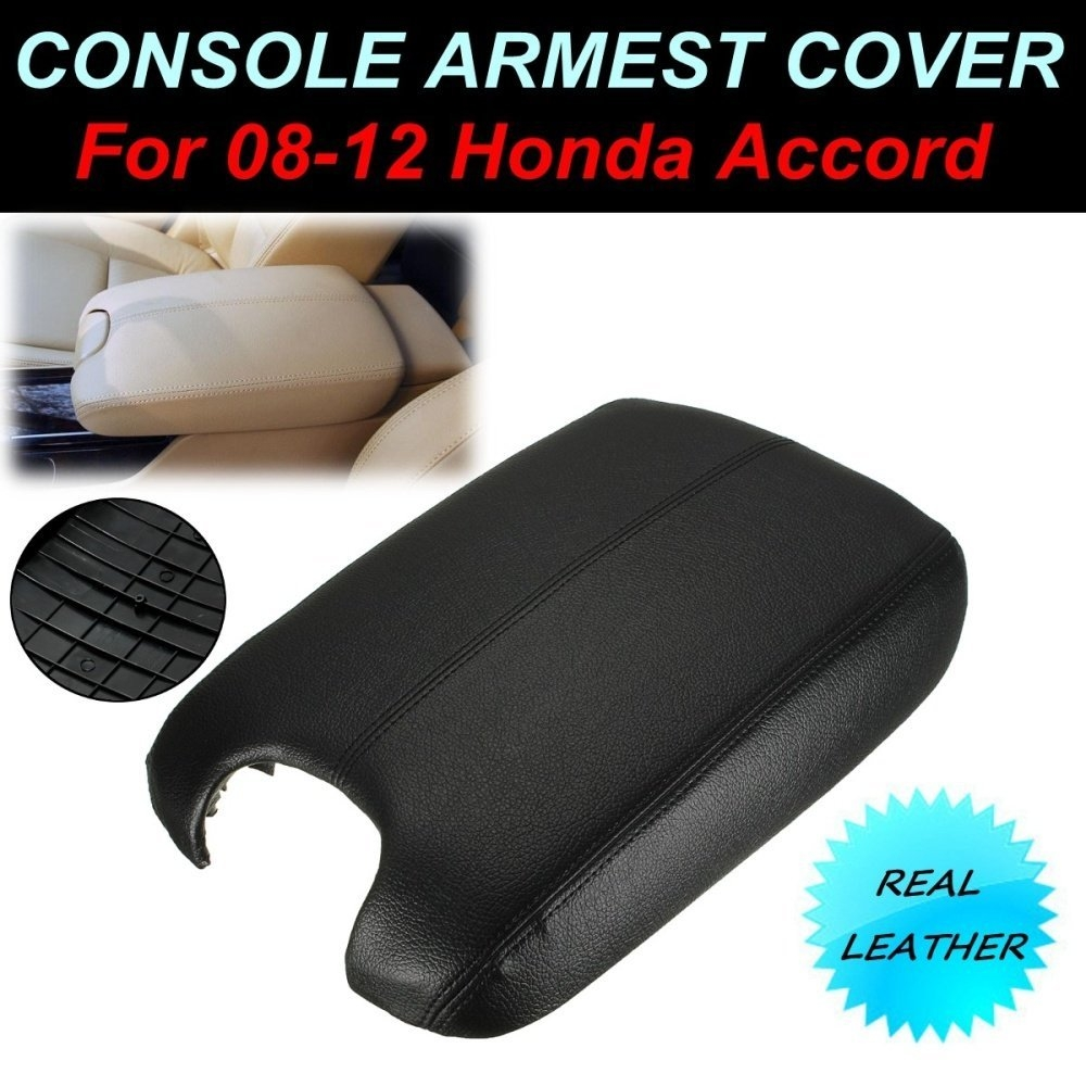 Universal New For Accord Leather + Plastic Black Center Console Lid Armrest Combo For Honda 08 12 price in nigeria