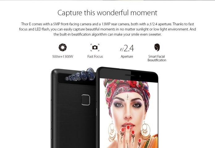 Vernee Vernee Thor E 4G Smartphone 5.0 Inch Android 7.0 MTK6753 Octa Core 1.3GHz 3GB RAM 16GB ROM Touch Sensor 5020mAh Battery Full Metal Body price in nigeria
