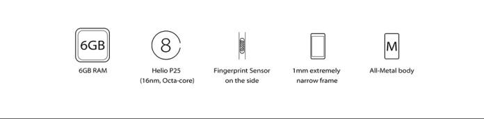 Vernee Vernee Mars Pro 4G Phablet Android 7.0 5.5 Inch Helio P25 Octa Core 2.5GHz 6GB RAM 64GB ROM Fingerprint Sensor 13.0MP Rear Camera Full Metal Body BLACK price in nigeria