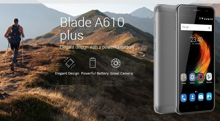 5cef3a7960c44c64bcdf757943ab627d ZTE A610 Plus 5.5 inch (4GB,32GB ROM) 13MP + 8MP Android 6 Hybrid Dual SIM 4G Smartphone + Free Phone Case, Selfie Stick & N1,000 Airtime   Gold