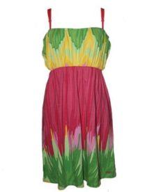 Comfort Floral Dress - Multicolour